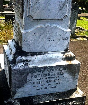 RIP Jessie patience and Frederick Armitage